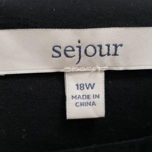 Sejour Skirts - Sejour black pencil skirt